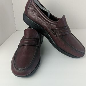 SAS Alamo leather brown dress shoes size 11.5W